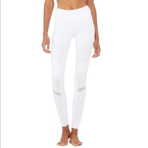 Alo yoga high waist Moto legging size XS